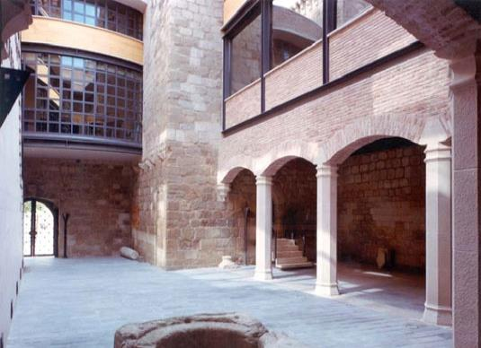 PALACIO FORTIFICADO DE AGUAS MANSAS, EN AGONCILLO