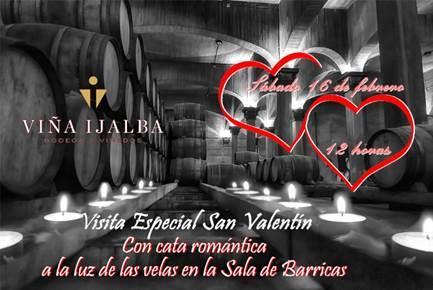 San Valentín en Bodegas Viña Ijalba