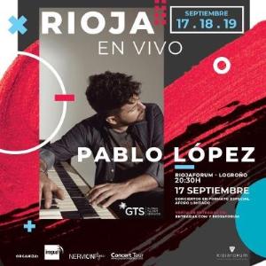 RIOJA EN VIVO PRESENTA: PABLO LÓPEZ