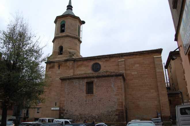 Iglesia parroquial de la Cruz en Nájera