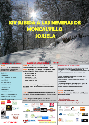 XIV Subida a las neveras de Moncalvillo (Sojuela)