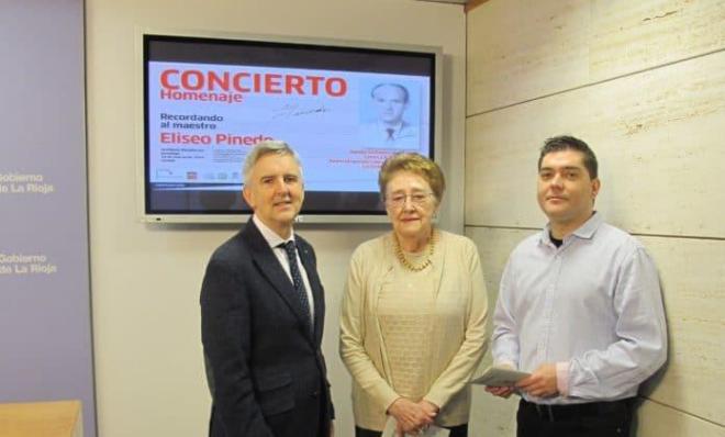 Riojafórum acogerá un concierto homenaje al maestro Eliseo Pinedo, compositor del himno de La Rioja