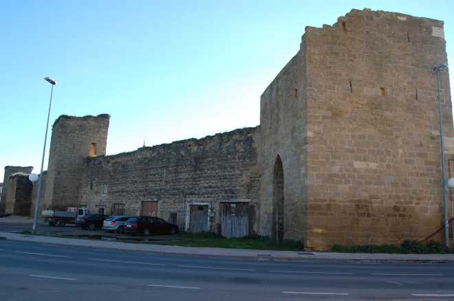 Town walls in Santo Domingo