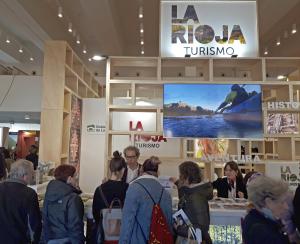 Rodríguez Osés asiste a la inauguración de la Feria Internacional de Turismo Navartur, donde  La Rioja Turismo mostrará sus principales recursos