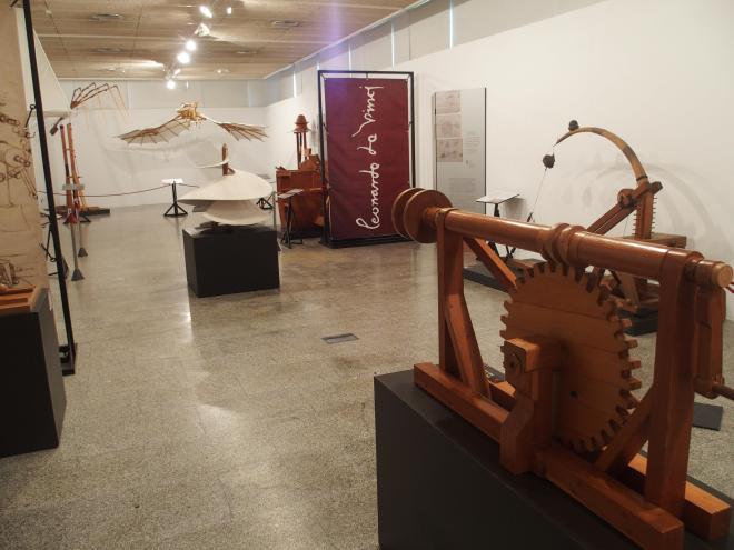 """Exposición """"Leonardo da Vinci, el inventor"""""""