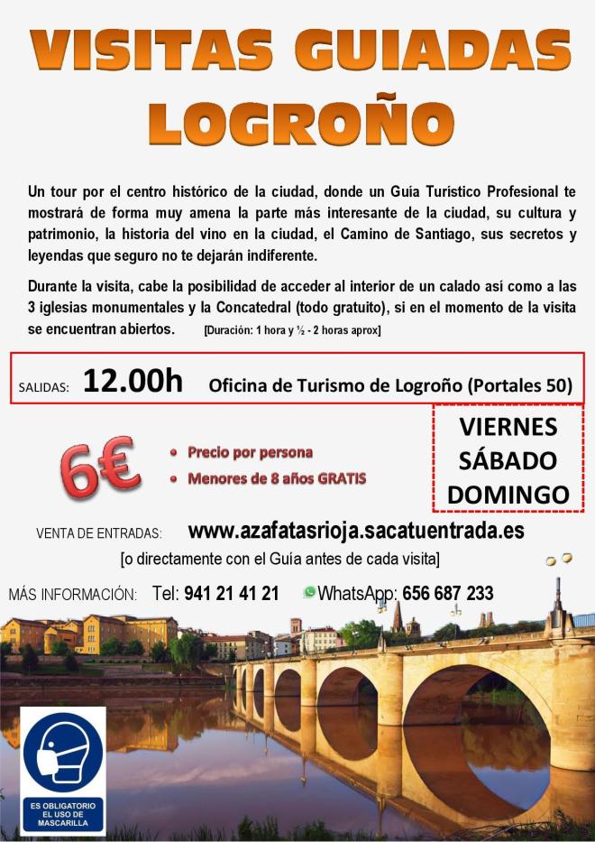 Visitas guiadas en Logroño