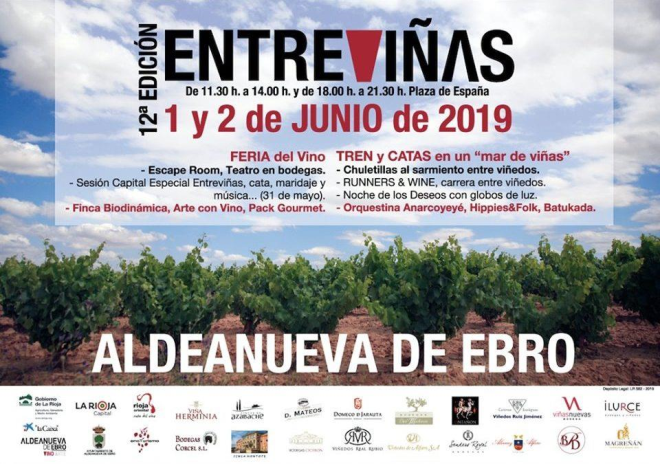 12ª Feria Entreviñas: Feria del Vino de Aldeanueva de Ebro
