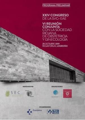 Logroño acogerá el XXIV Congreso de SVC-EAE y VI Reunión con la Sociedad Riojana de Obstetricia y Ginecología