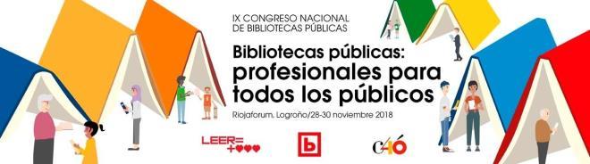 Un ministro y cientos de bibliotecarios, esta semana en Logroño