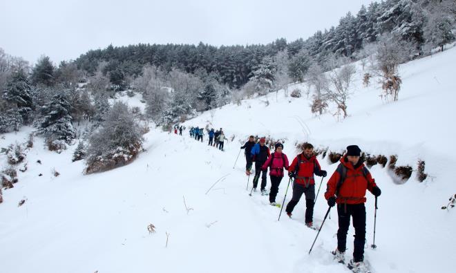 Vacaciones de Semana Santa en los bosques de Ezcaray
