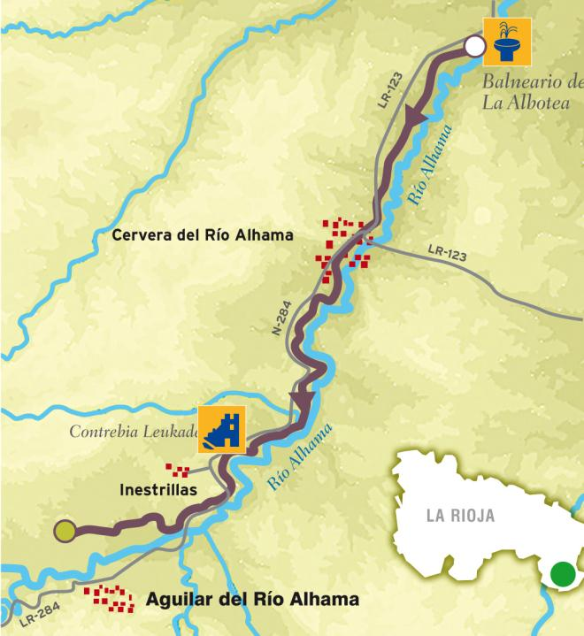 MTB route: Alhama Greenway