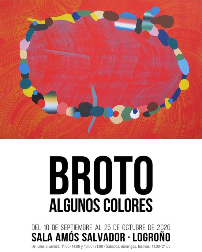 """Exposición """"Algunos colores"""""""