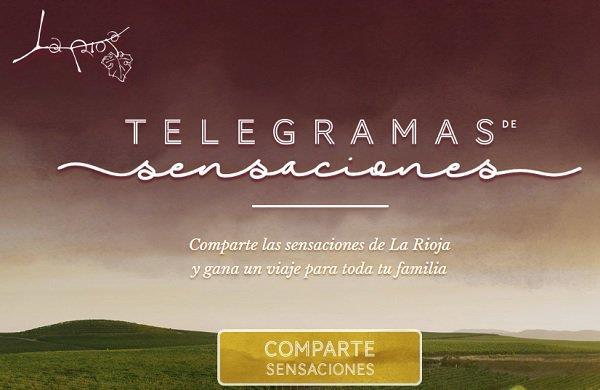 La Rioja Turismo recupera los telegramas para su campaña de promoción