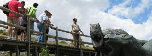 Visitas guiadas a las huellas de dinosaurios de Enciso