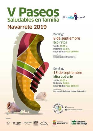 V Paseos saludables en familia en Navarrete