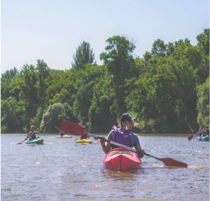Experiencia en Kayak