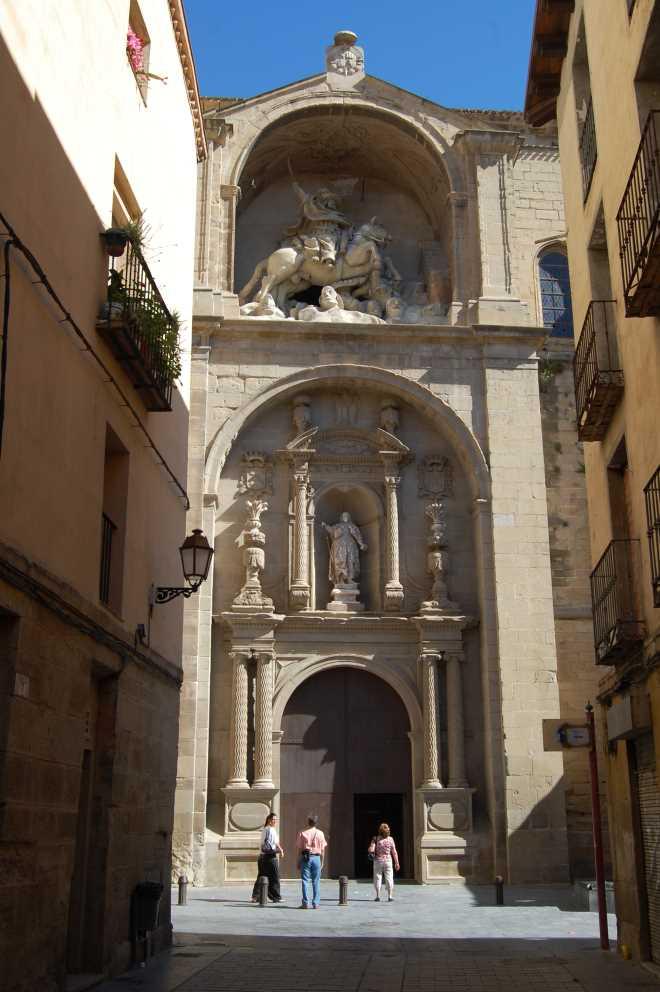 Iglesia parroquial de Santiago el Real en Logroño