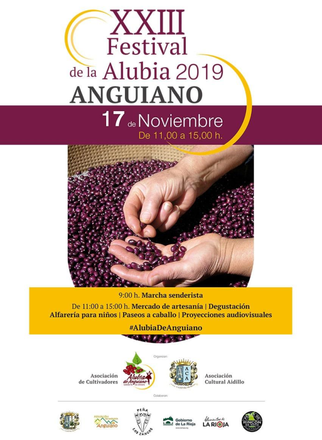XXIII Festival de la Alubia de Anguiano 2019