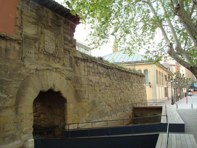 Las Murallas de Logroño y el Cubo del Revellín