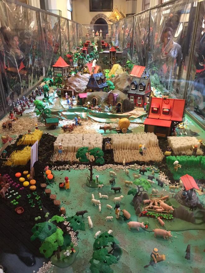 Exposición de Playmobil que recrea los milagros de Santo Domingo