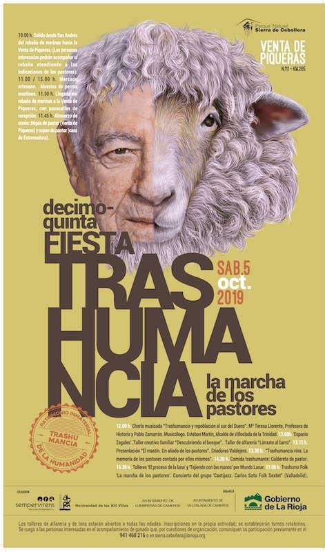 XV Fiesta de la Trashumancia. La marcha de los pastores