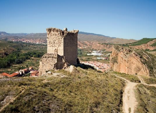 Castillo roquero de Quel