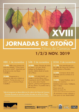 XVIII Jornadas de otoño en Nieva de Cameros