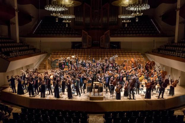 La Joven Orquesta afina en Riojaforum