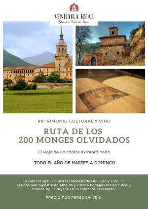 Ruta de los 200 Monges olvidados