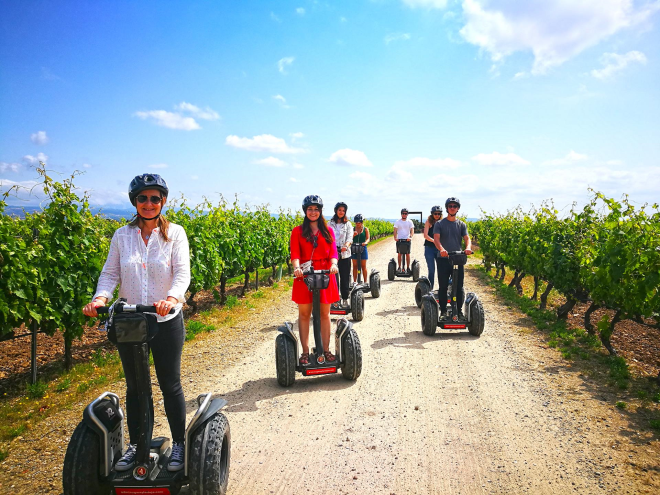 Segway tour official La Rioja