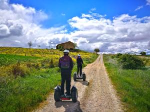 Enoturismo en segway por La Rioja Alta