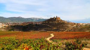 Catas en el Castillo de San Vicente. Disfruta del paisaje del otoño