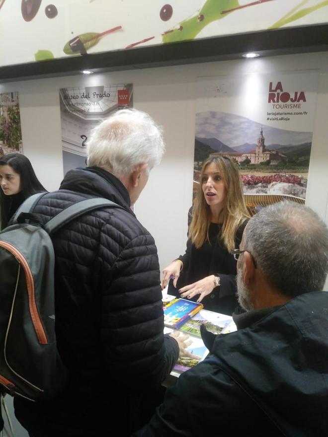 La Rioja Turismo participa en el Salón Mundial del Turismo de París