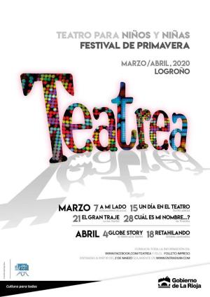 Teatrea primavera 2020