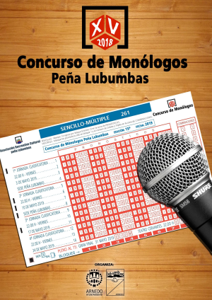 XV Concurso de Monólogos Peña Lubumbas