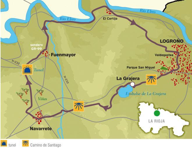 Ruta en BTT: Pantano de La Grajera