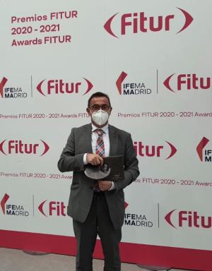 El Gobierno de La Rioja recoge en Madrid el premio al Mejor Stand otorgado en FITUR 2021