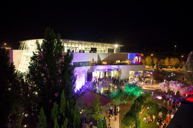 In der Nacht tönt das Museum