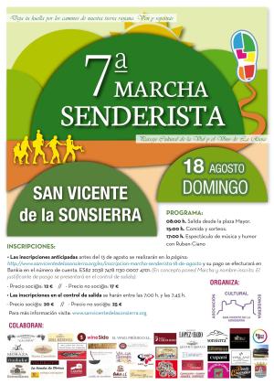 VII Marcha senderista, paisaje cultural de la vid y el viñedo