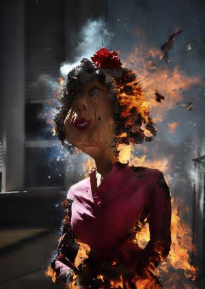 Brûlage du Judas
