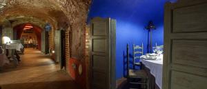 Las Cuevas de Arnedo….. Restaurante Sopitas, también es una cueva