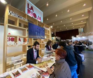 La Rioja se promociona como destino turístico en Navartur