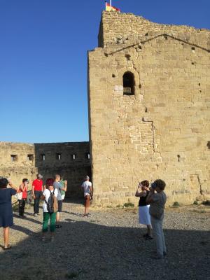Visitas al Castillo de San Vicente con gafas de realidad virtual