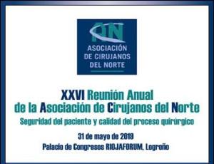 XXVI  REUNIÓN ANUAL DE LA ASOCIACIÓN DE CIRUJANOS DEL NORTE 2019