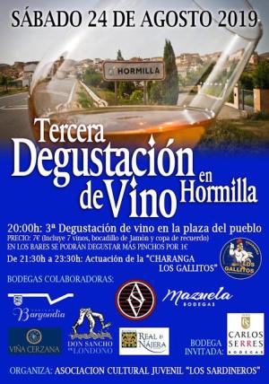 III Degustación de vino en Hormilla