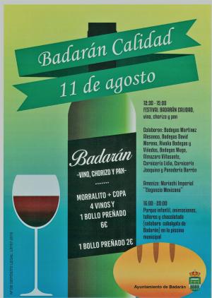 Festival Badarán Calidad