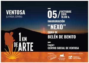 Inauguración de NEXO, obra del 2019 para 1Kilómetro de Arte.