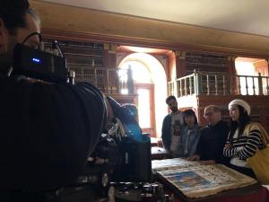 La serie para la televisión china Spain Passion se rueda esta semana en La Rioja