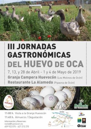 III Jornadas Gastronómicas del Huevo de Oca