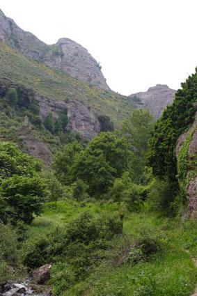 Wanderweg von Salto del Agua (Matute)